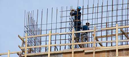 reinforcing iron and rebar workers
